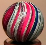 73162: 73162 BB Marbles: Rare 360 degree Uncased Indian