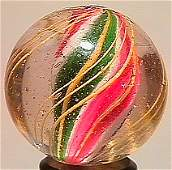 """74001: 74001 BB Marbles: Solid Core Swirl 1-1/16"""" 8.7"""