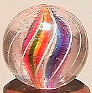 """74007: 74007 BB Marbles: Divided Core Swirl 5/8"""" 9.1"""