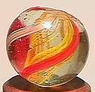 """74008 BB Marbles: Latticinio Swirl 19/32"""" 9.7"""