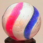 "74010: 74010 BB Marbles: Peppermint Swirl 25/32"" 8.0"
