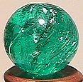 """74012: 74012 BB Marbles: Aqua Mica 9/16"""" 9.9"""