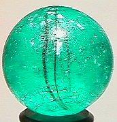 74014: 74014 BB Marbles: Aqua Mica with Oxblood 29/32 8