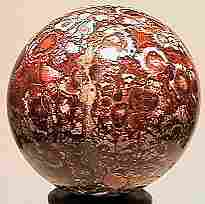 74017 BB Marbles: Fossilized Marble Sphere