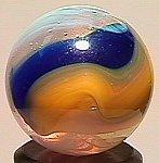 "74021: 74021 BB Marbles: Akro Popeye 23/32"" 8.8"