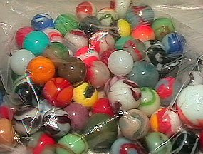 74248: 74248 BB Marbles: About 50 Machine Mades