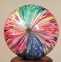 75004 BB Marbles: 4-Panel Onionskin Mica