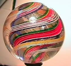 """75007 BB Marbles: Divided Swirl 2-1/8"""" 8.4"""