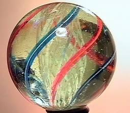 """75009 BB Marbles: Latticinio Swirl 1-5/8"""" 9.9"""