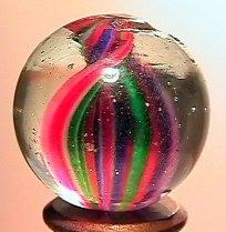 """75010: 75010 BB Marbles: Ribbon Swirl 27/32"""" 8.7"""
