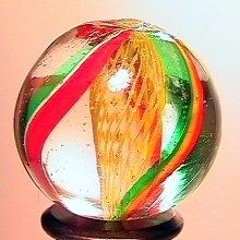 """75011: 75011 BB Marbles: Latticinio Swirl 7/8"""" 9.9"""