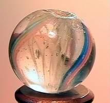 """75014 BB Marbles: Latticinio Swirl 11/16"""" 9.7"""