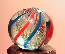 """75016 BB Marbles: Latticinio Swirl 9/16"""" 9.8"""