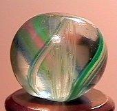 """75019: 75019 BB Marbles: Latticinio Swirl 9/16"""" 9.7"""
