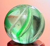 """75023 BB Marbles: Latticinio Swirl 11/16"""" 9.8"""