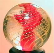 """75046: 75046 BB Marbles: Ribbon Swirl 13/16"""" 8.4"""