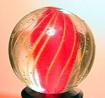 """75049 BB Marbles: Ribbon Swirl 27/32"""" 8.9"""