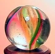 """75054 BB Marbles: Latticinio Swirl 19/32"""" 9.9"""