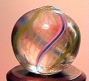 """75055 BB Marbles: Latticinio Swirl 17/32"""" 8.9"""