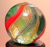 """75056 BB Marbles: Latticinio Swirl 21/32"""" 8.6"""