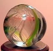"""75057 BB Marbles: Latticinio Swirl 9/16"""" 9.7"""