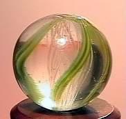 """75059 BB Marbles: Latticinio Swirl 9/16"""" 9.9"""