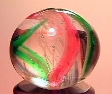"""75062 BB Marbles: Latticinio Swirl 11/16"""" 9.8"""