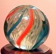 """75064 BB Marbles: Latticinio Swirl 17/32"""" 9.4"""