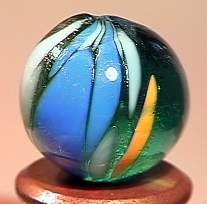 """75129: 75129 BB Marbles: Rare Indian 5/8"""" 9.3"""