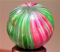 """75130: 75130 BB Marbles: Rare Indian 27/32"""" 8.9"""