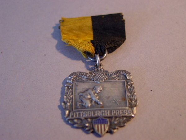75287: 75287 BB Marbles: Very Rare Tournament Medal