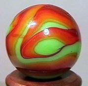 "76011 BB Marbles: CAC Swirl 5/8"" 9.8"