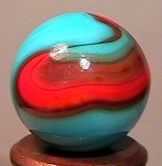 "76016: 76016 BB Marbles: CAC Swirl 21/32"" 9.8"