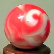 """76022 BB Marbles: CAC Flame Swirl 5/8"""" 9.9"""