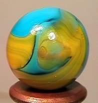 "76023 BB Marbles: CAC Swirl 11/16"" 8.9"