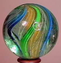 """77003 BB Marbles: 3-Layer Solid Swirl 1-1/2"""" 7.9"""