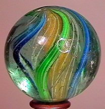 "77003: 77003 BB Marbles: 3-Layer Solid Swirl 1-1/2"" 7.9"