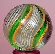 """77009 BB Marbles: Divided Core Swirl 1-3/16"""" 8.9"""