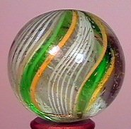 "77009: 77009 BB Marbles: Divided Core Swirl 1-3/16"" 8.9"