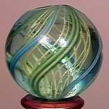 "77013 BB Marbles: Latticinio Swsirl 1"" 9.7"