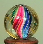 "77018: 77018 BB Marbles: Solid Core Swirl 21/32"" 9.1"