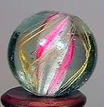 """77021 BB Marbles: Solid Core Swirl 21/32"""" 9.8"""
