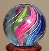"""77022 BB Marbles: Divided Core Swirl 3/4"""" 9.9"""