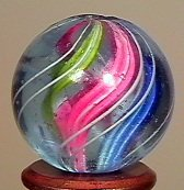 "77022: 77022 BB Marbles: Divided Core Swirl 3/4"" 9.9"
