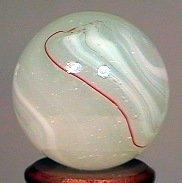 """77242: 77242 BB Marbles: Akro Milky Oxblood 25/32"""" 9.5"""