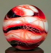 77297: 77297 BB Marbles: WV Swirl with Drizzlies