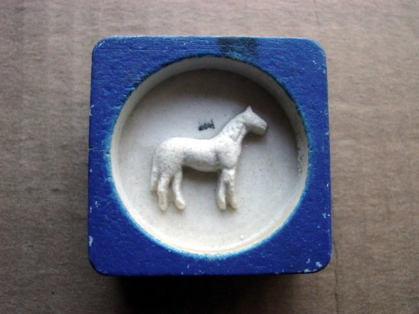 79012: 79012 BB Marbles: Horse Sulphide Mold