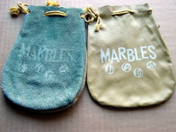 79024: 79024 BB Marbles: Two Marble Pouches
