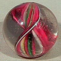 16: BB Marbles: Naked Ribbon Core Swirl