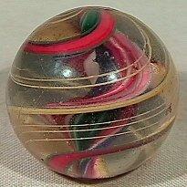 18: BB Marbles: Ribbon Core Swirl
